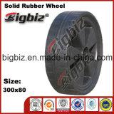 Qingdao alta qualidade Semi pneumática 5 polegadas giratória de borracha Rodas
