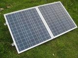 4WD로 야영을%s 태양 전지판 장비를 접히는 120W