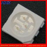 5050 SMD LED de color blanco con 7-8lm utilizados para la bombilla LED