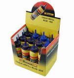 Línea de tiza azul amarillo del molinete de tinta recargas de tiza en polvo rojo