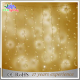 Luzes acrílicas da corda do diodo emissor de luz da decoração do motivo do Natal dos produtos novos