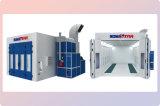 Cabine de pulvérisation d'entretien industriel avec cabine de peinture de la lampe courte