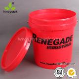15L красный горячей воды HDPE промышленных ковш с стальная рукоятка