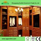 Mobiliário de banheiro de madeira sólida clássico de estilo americano de alta qualidade (BV142W)