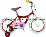 12-дюймовый красный детские велосипеды для маленьких девочек КБ-033