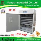 Incubateur automatique approuvé de cailles de Digitals de la CE avec 2652 oeufs de caille
