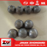 China Proveedores Alta de fundición de acero de fundición de forjado de cromo pulido bolas de la minería del carbón Molinos de Cemento Media Bolas para molienda