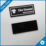 Low Minimum PU Leather Label para Vestuário