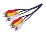 Cable de audio / video RCA Cable AV (RC001-RC026)