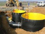 HDPE / PP tubos de bobinado de espiral de gran diámetro de producción de la máquina