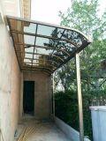 Exterior de aleación de aluminio policarbonato/PC balcón techado /Toldo/Formulario Factory