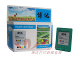 Remanufacture Farben-Tinten-Patrone für HP C9361Z/854 (HP854)