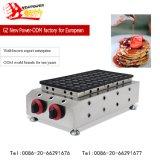 50 pcs Poffertjes commerciale Grill Mini Pancake Maker sur la vente