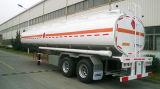 De petróleo Cimc 30cbm del buque semi del carro del acoplado/del combustible del petrolero chasis del acoplado del carro semi