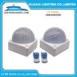 LED messo che nuota gli indicatori luminosi subacquei del raggruppamento