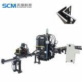 角度の鋼板のために油圧CNCの打つ機械
