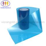 コンピュータ画面の保護のためのアクリルまたはシリコーンの接着剤が付いている25um/36um/50um/75um/100um/125umの青か赤いペット保護フィルム