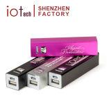 liga de alumínio Mini-carregador da bateria móveis coloridos power bank portátil 2600mAh com o logotipo OEM