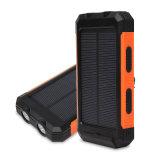 Cargador portátil de luz LED de Banco de potencia de 8000mAh cargador potencia móvil Bank Banco de la energía solar