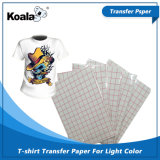 100%年の綿ワイシャツのための優れた軽く暗いTシャツの転写紙