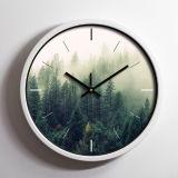 Reloj de pared estilo europeo con el logotipo de empresa personalizado