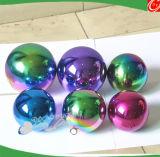 Acero inoxidable Mirrow bola para la decoración del árbol de Navidad