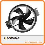 O rotor externo de alta velocidade do grupo motoventilador com lâminas de liga para o Armário (250FZY2-D)