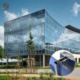 De commerciële Gordijngevel van het Glas van het Frame van het Aluminium van het Glas van de Vervaardiging en van de Techniek laag-E van de Bouw