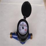 Multi Strahlen-Drehleitschaufel-Rad-trockenes Vorwahlknopf-Wasser-Messinstrument