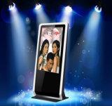Étage permanent kiosque de 42 pouces à écran tactile