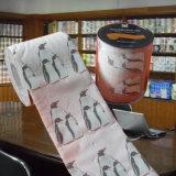 Surtidor impreso de la venta al por mayor del rodillo del papel higiénico