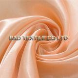Tissu 100% différent de satin de couleur de polyester