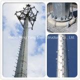 강철에 의하여 직류 전기를 통하는 단 하나 관 Monopoles 통신 타워