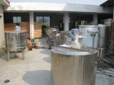 Pequenos 300L/H máquinas de transformação do leite dos produtos lácteos