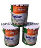 Revestimento impermeável de poliuretano elástico com componente único à base de água