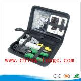 Волоконно-оптический кабель инспекции Набор инструментов и комплект Optic инструментов для обслуживания сетей