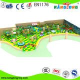 Популярные игровые площадки для установки внутри помещений/ Naughty замок для торгового центра (TQB054)