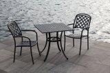 Алюминиевой пыли мебели патио сада бюджети таблица и стулы содружественной установленной Coated