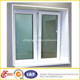 중국 제조자 직매 UPVC 차일 여닫이 창 Windows