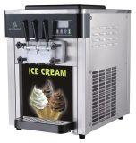 2015 Venta caliente 2 + 1 mezcló el fabricante suave de la máquina de helado