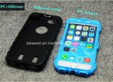 Caisse annexe d'armure de téléphone cellulaire de pneu de silicones du téléphone mobile PC+ pour le cas 6 de l'iPhone 5 pour la couverture de Samsung S6 S7