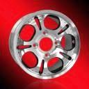Le véhicule d'UTV borde les roues en gros d'aluminium de roues d'alliage de la qualité 20X10.0