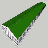 Сарай здания пакгауза структурно Corrugated конструкции модульный стальной