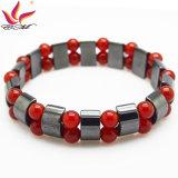 Htb090 Pulseira de moda de alta qualidade Handmade Hematite Bead Jewelry