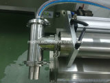 Líquido Horizontal Semi-automático de la Máquina de Rellenar Tamaño Pequeño de Acero Inoxidable