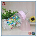 frasco de alimentação do bebê de 240ml PP com impressão bonito