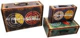 [س/3] زخرفة أثر قديم يتلقّى غلّة كرم حالة لهو تصميم طباعة [بو] [لثر/مدف] خشبيّة تخزين حقيبة صندوق