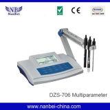 Mètre de qualité de l'eau de multiparamètre d'analyse de recherches de laboratoire