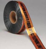 Лента предосторежения горячего сбывания обнаруженная для подземного предупреждения кабеля