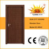 최고 디자인 실내 색칠 나무로 되는 문 가격 (SC-W042)